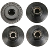 HB Racing Flanged Lock Nut M5X8mm (4pcs)
