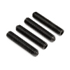HPI Racing Threaded Shaft, M4X20mm, (4pcs)