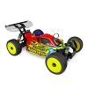 JConcepts Associated RC8B3/B3.1 Strike 3 Worlds 1/8 Buggy Body (Clear)