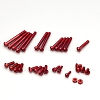 KO Propo Aluminum Screw Set for EX-RR / EX-2 / LDT / NEXT (Red)