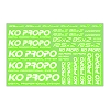 KO Propo Decal Green