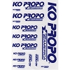 KO Propo America Blue Decal