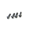 Kyosho Button Screw (Hex/Titanium/M4x12/4pcs)