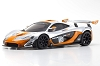 Kyosho MINI-Z RWD McLaren P1 GTR Silver / Orange