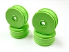 Kyosho 17mm Dish Wheels Green (MP9 TKI4) (4)