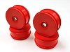 Kyosho 17mm Dish Wheels Red (MP9 TKI4) (4)