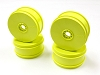 Kyosho 17mm Dish Wheels Yellow (MP9 TKI4) (4)