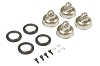 Kyosho  Aeration Cap Set (Threaded Big Shock / MP9)