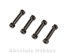 Kyosho Aluminum Radio Post Black (GT2/NEO2.0/NEO)