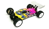 LeadFinger Racing A2 Tactic body w/2 wing set (Clear) (Xray XB4)