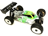 LeadFinger Racing A2.1 Tactic body (Clear) w/front wing for Tekno EB48 2.0