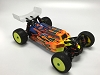 LeadFinger Racing Assassin Body (Clear) HB D413 w/ Pre-cut Wing (Option X2)