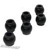 Lunsford Associated RC10B6.1/B6.1D/T6.1 Shock Mount Bushings (6)