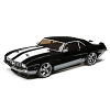 Losi 1/10 1969 Chevy Camaro V100 AWD Brushed RTR (Black)