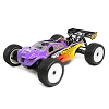 Losi 1/8 8IGHT-T 4WD Truggy Nitro RTR (Purple / Yellow)