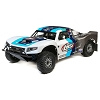 Losi 1/5 5IVE-T 2.0 4WD Short Course Truck Gas BND Grey/Blue/White
