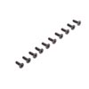 Losi Flat Head Screws M2.5 x 8mm (10)