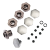 MIP 17mm Hex Adapter Kit: Slash 4x4