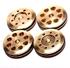 Mugen FP 8-Hole (4x1.5mm & 4x1.35mm) Brass 16mm Pistons w/O-Rings (4)