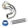 Novarossi Manifold Set Polished Short 1 Ring + 21000 + 60001