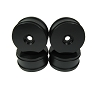 Performa 1:8 Buggy Wheels (Carbon Black) (4pcs)