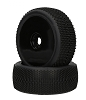 Performa Megabite V2 1:8 Mounted Tire (Purple Compound) (Black Carbon Wheel) 1pr