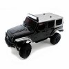 Panda Hobby Tetra X1 1/18 RTR Scale Mini Crawler w/2.4GHz Radio (Black)