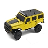 Panda Hobby Tetra X1 1/18 RTR Scale Mini Crawler w/2.4GHz Radio (Yellow)