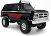 Panda Hobby Tetra X2 1/18 Scale Crawler RTR 4WD Off-Road Vehicle (Black / Red)