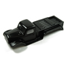 Panda Hobby Tetra18 K1 Body Shell Set (Black) (w/Grill w/o LED's)