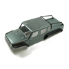 Panda Hobby Tetra18 X1 6X6 Body Shell Set (Gunmetal Gray) (w/ F & R Grill w/o LED's)