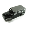 Panda Hobby Tetra18 X1 Body Shell Set (Black) (w/F & R Grill w/o LED's)