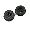 Panda Hobby Tires and Wheels, Mounted and Glued fits Tetra18 (1pr)