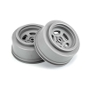 Pro-Line Slot Mag Drag Spec Rear Drag Racing Wheels (Stone Grey) w/12mm Hex (2)