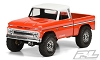 Proline 1966 Chevrolet C-10 Clear Body (Cab + Bed) (313mm) Wheelbase Scale Crawlers