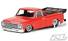 Pro-Line 1972 Chevy C-10 1/10 Short Course No Prep Drag Racing Body (Clear)