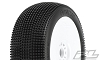 Pro-Line Fugitive Pre-Mounted 1/8 Buggy Tires (White) (S2 Medium) (2)