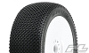 Pro-Line Slide Lock Pre-Mounted 1/8 Buggy Tires (White)(X3) (Soft) (2)
