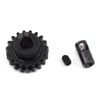 ProTek RC Steel 32P Pinion Gear w/3.17mm Reducer Sleeve (Mod .8) (5mm Bore) (19T)