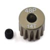 ProTek RC 48P Lightweight Hard Anodized Aluminum Pinion Gear (3.17mm Bore) (14T)