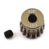 ProTek RC 48P Lightweight Hard Anodized Aluminum Pinion Gear (3.17mm Bore) (16T)