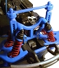 RPM T-Maxx & E-Maxx Shock Tower & Body Mounts – Blue