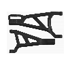 RPM Front A-Arms Right Black Traxxas Revo (2)