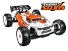 Serpent SRX8 Truggy GP 1/8 Nitro 4wd