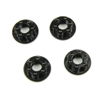 Sticky Kicks RC M4 Wheel Nuts (Black) 4pcs