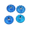 Sticky Kicks RC M4 Wheel Nuts (Blue) 4pcs
