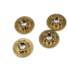 Sticky Kicks RC M4 Wheel Nuts (Brown) 4pcs