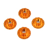 Sticky Kicks RC M4 Wheel Nuts (Orange) 4pcs