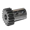 Tekno RC 5mm Bore Hardened Steel Long Shank Mod 1 Pinion Gear (19T)