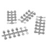 Tekno RC Hinge Pin Inserts, Wheelbase Shims (requires TKR6523HD pins, EB/ET410)